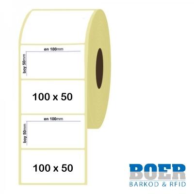 100mm x 50mm Termal Etiket
