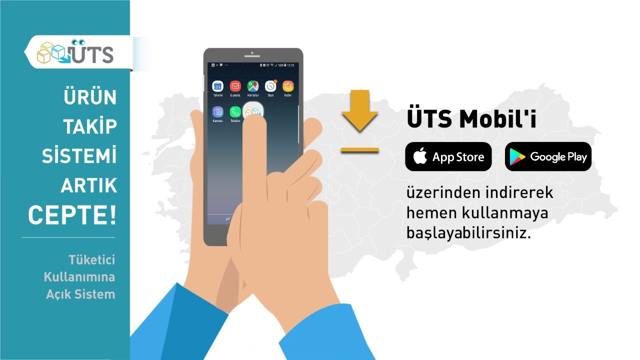 UTS Mobil Uygulamasına Erişim Sağlama