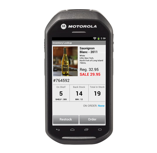 Motorola MC40 El Terminali