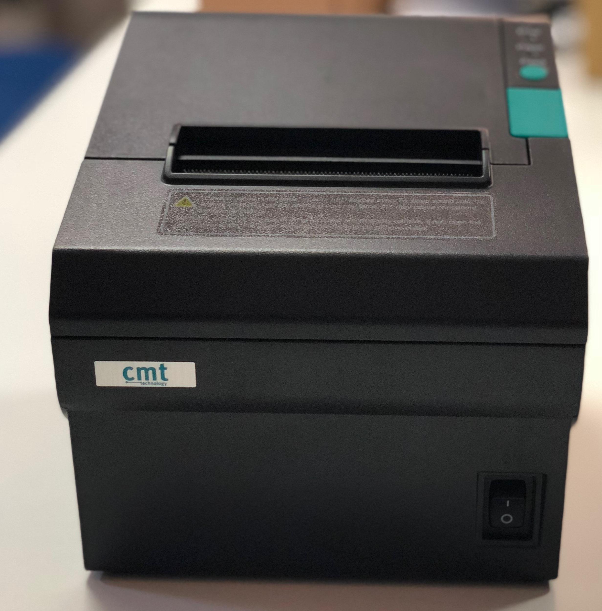 Çift otomatik kağıt kesicili,tasarımlı Termal Fiş Yazıcı