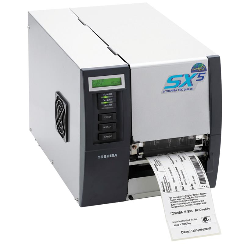 Toshiba B-SX5T Barkod ve Etiket Yazıcı
